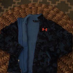 Boys youth medium under armour jacket